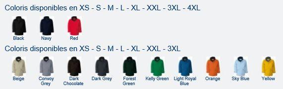 Code couleur K677