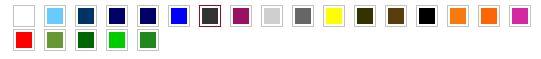 Code couleur KEYA