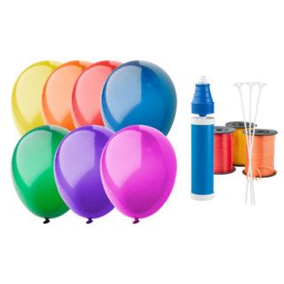 Gamme de couleurs ballon baudruche