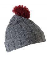 bonnet-hiver-pompon-bicolore