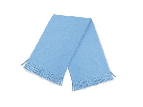 Echarpe unicolore bleu ciel