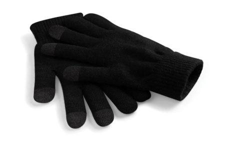 Gants tactiles noir