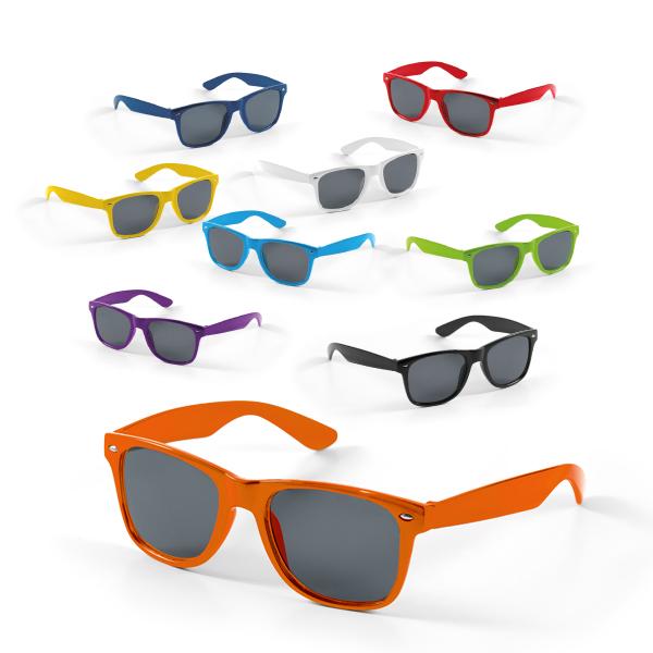 Gamme de couleurs lunettes de soleil