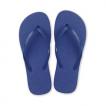 Tongs plage bleu