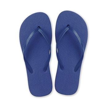 Tongs plage bleu