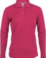 polo-femme-rose-coton