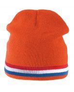 bonnet-orange-tricot-hiver