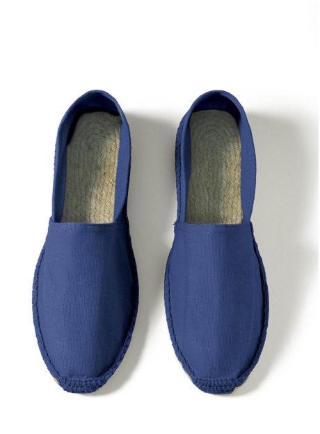 Espadrilles coton bleu marine