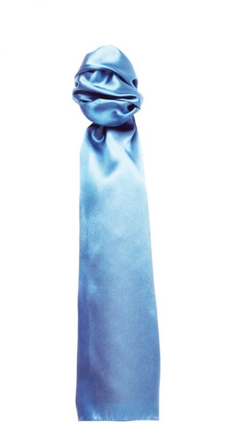 Foulard unicolore bleu