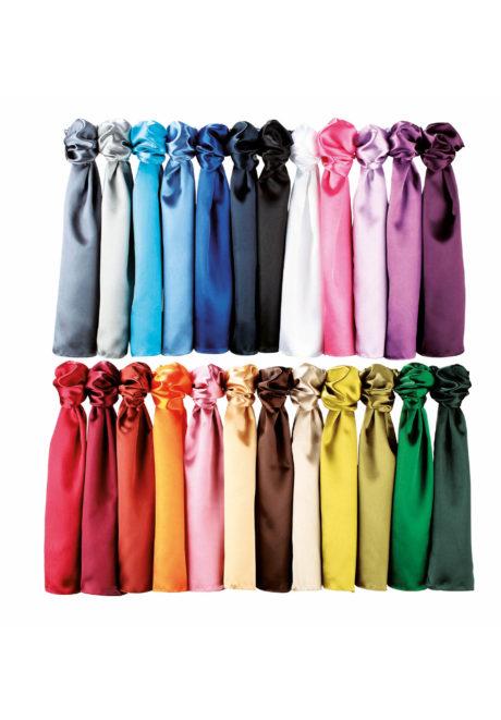 Gamme de couleurs foulard unicolore
