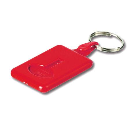 Porte clé décapsuleur rouge