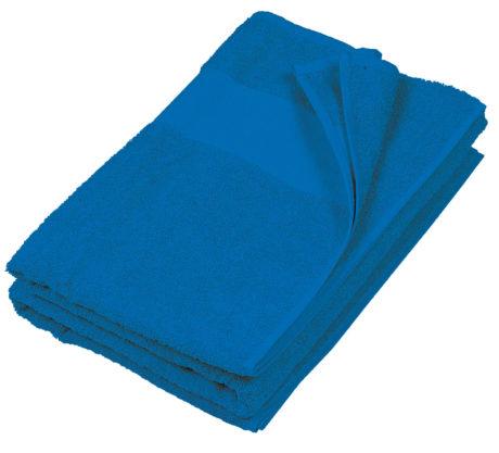 Serviette de plage coton bleu