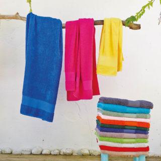 Serviette de bain coton à personnaliser