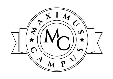 Logo Maximus Campus blanc et noir