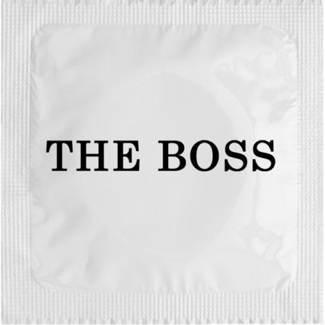 préservatif logo The Boss