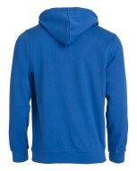 pull-capuche-basic-hoodie-bleu