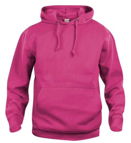 sweat à capuche rose