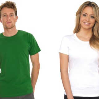 tee shirt col rond personnalisable