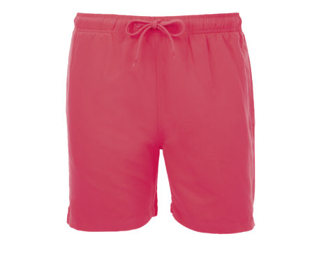 Short de bain rose fluo