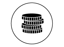 icone piece noir