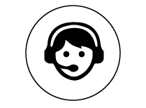 icone speaker noir