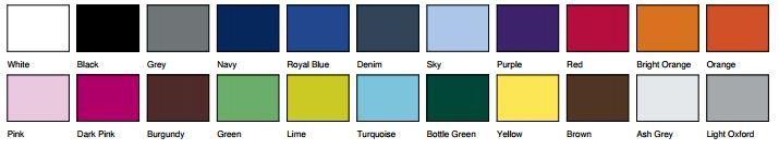 Code couleur SG27 bis