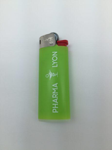 Briquet bic vert personnalisable
