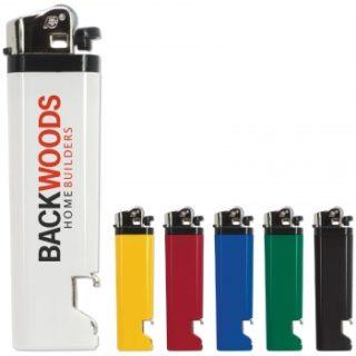 gamme de couleurs briquet décapsuleur personnalisable