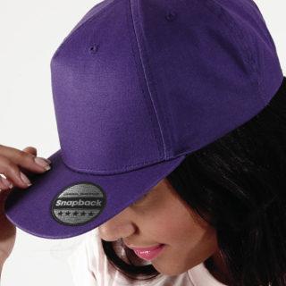 casquette snapback violette