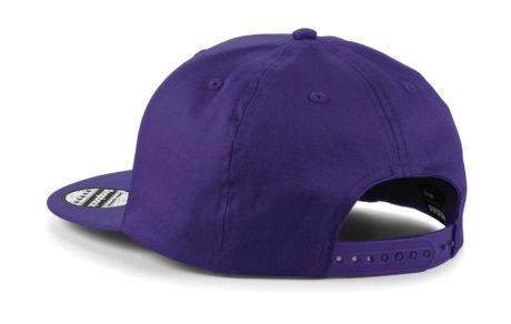 casquette snapback dos violet personnalisable