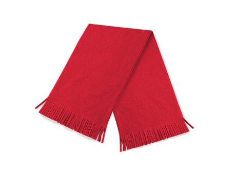 Echarpe unicolore rouge