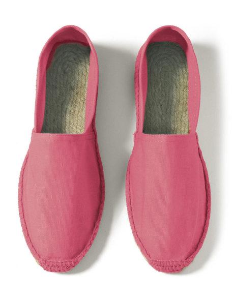Espadrilles coton rose