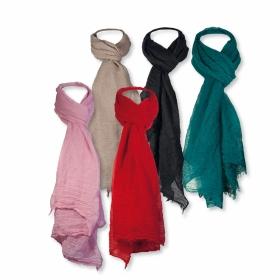 Gamme de couleurs foulard viscose unicolore
