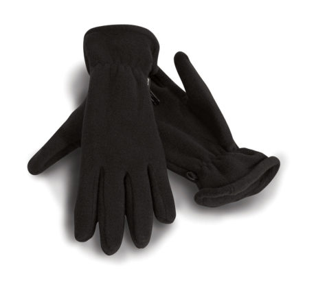 Gant polyester noir