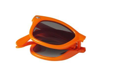 Lunettes de soleil pliables orange