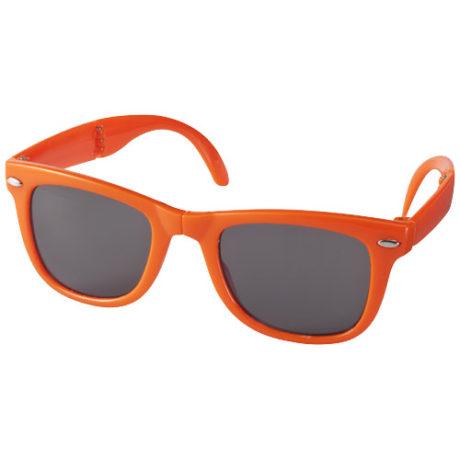 Lunettes de soleil pliable orange