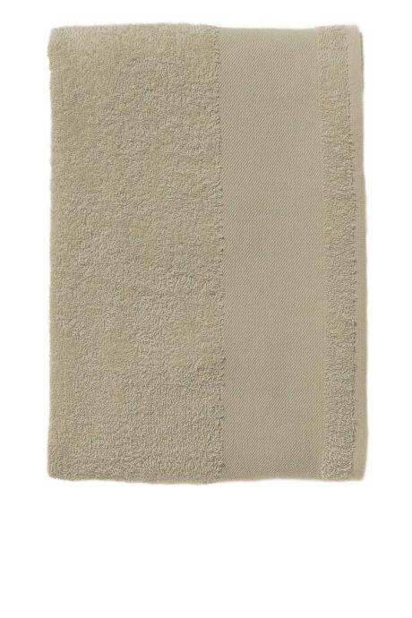 Serviette éponge coton grise