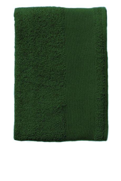 Serviette coton vert