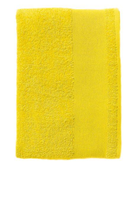Serviette coton jaune