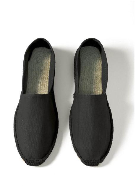 Espadrilles coton noir