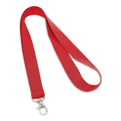 Porte clé cordon rouge