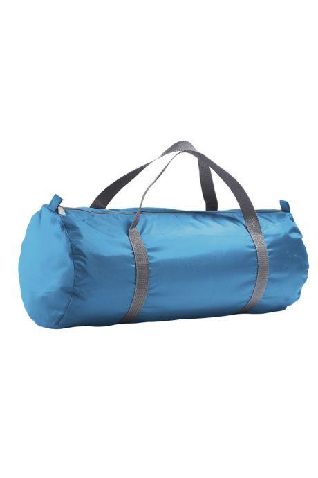 sac bleu polochon