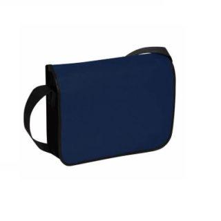 Besace bleu marine avec bandoulière noir