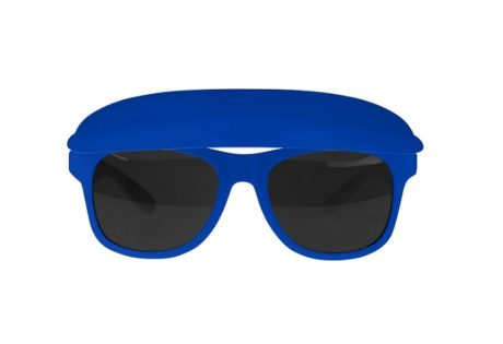 lunette avec visière bleu
